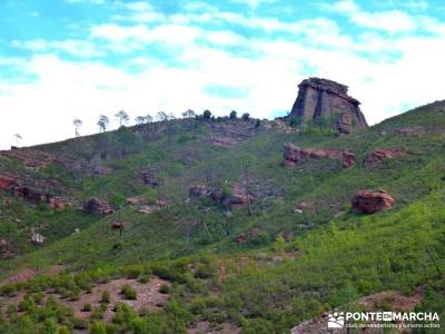 Valle de los Milagros - Parque Natural Cueva de la Hoz;rutas por el escorial el pardo rutas